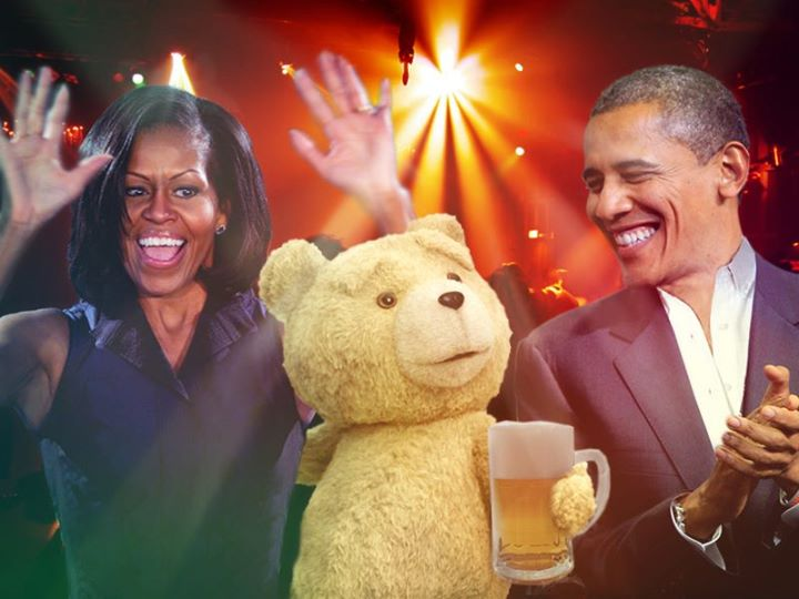Ted movie President Obama
