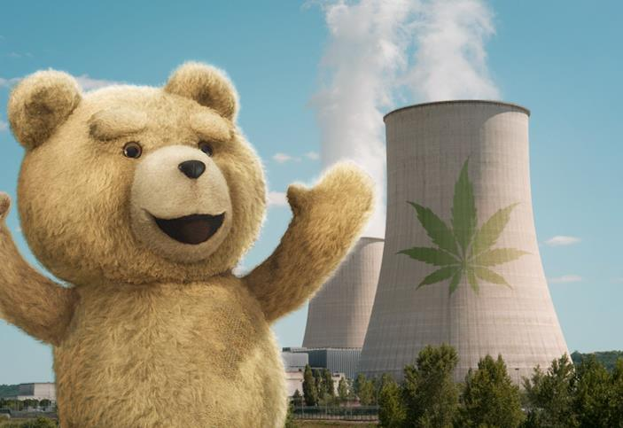 Ted movie stoned
