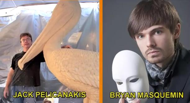 Jack Pelicanakis and Bryan Masquemin
