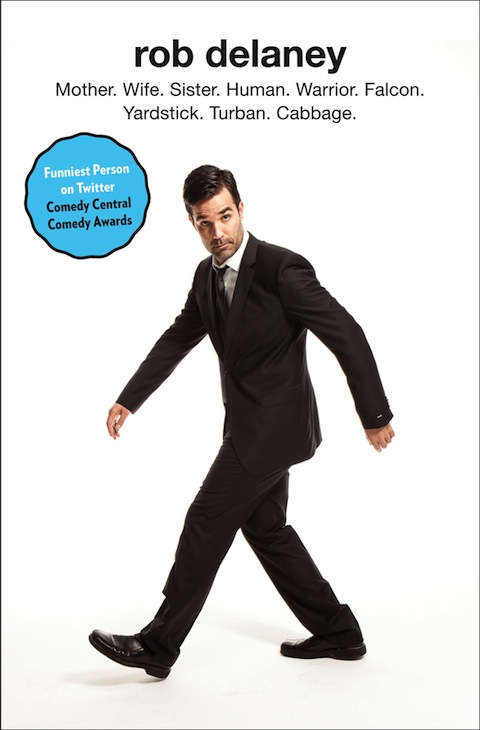 Rob Delaney Book