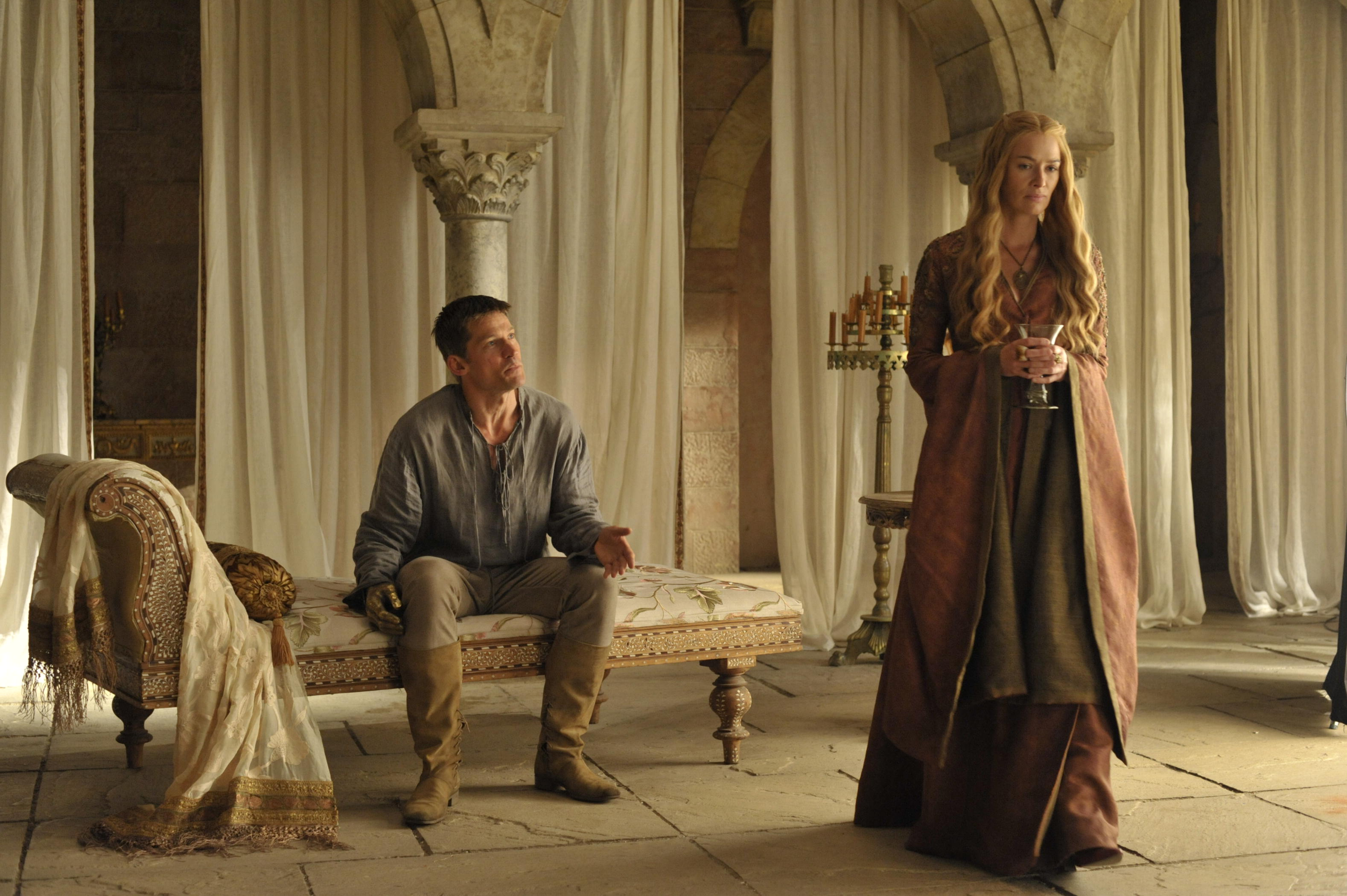 Game-of-Thrones-Season-4Nikolaj-Coster-Waldau-Jaime-Lannister-Lena-Headey-Cersei Lannister_HBO