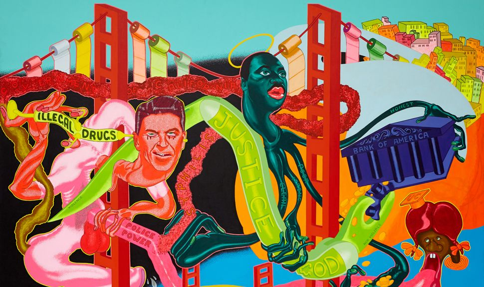 peter saul works