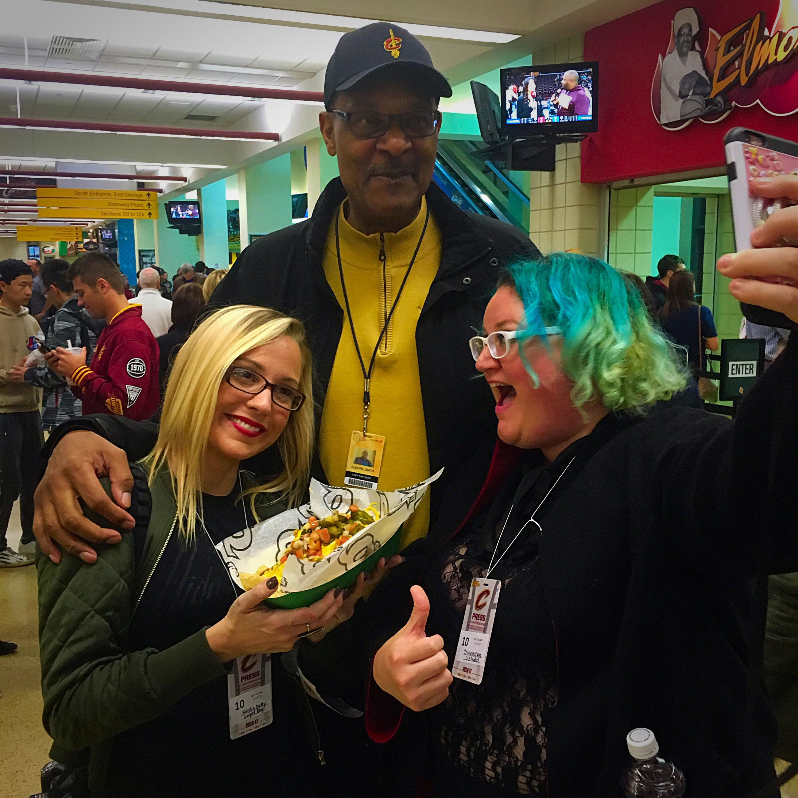 The Q Foods ing home to Cleveland for CavsEatsloop